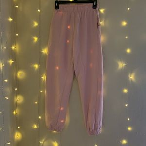 BRAND NEW PRETTYLITTLETHING Pink Jogger Sweatpants